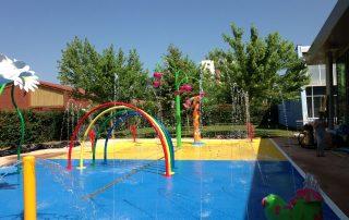 Création d'une aire de jeu aquatique à Saint Affrique